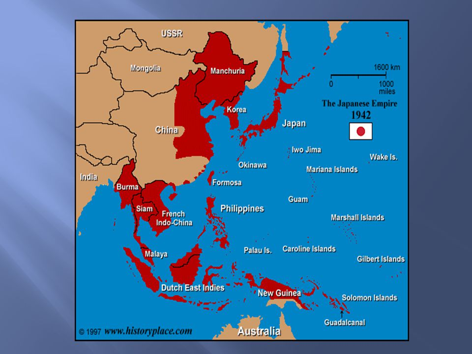  January of 1942: Japanese attacked the Philippines  Americans fought them from Bataan Peninsula  3 months of fighting before Japan overtook American forces