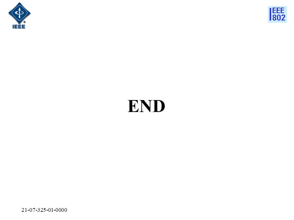 21-07-325-01-0000 END
