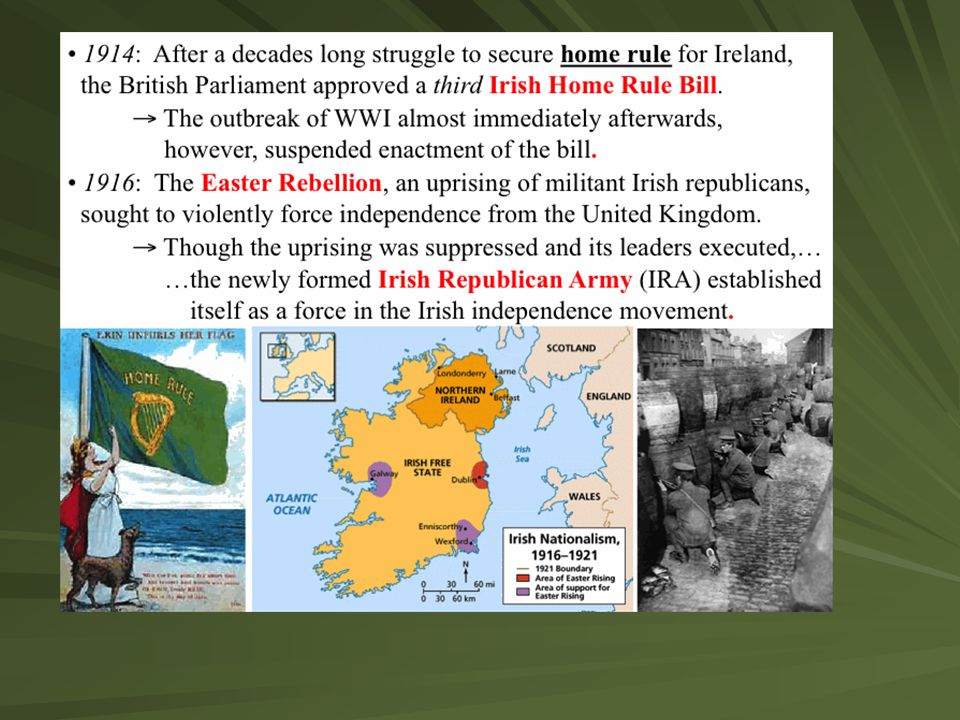 Troubles last until truce is called between IRA and England's P.