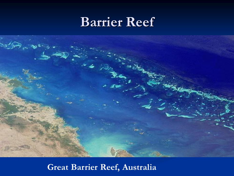 Barrier Reef Great Barrier Reef, Australia