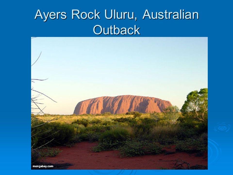 Ayers Rock Uluru, Australian Outback