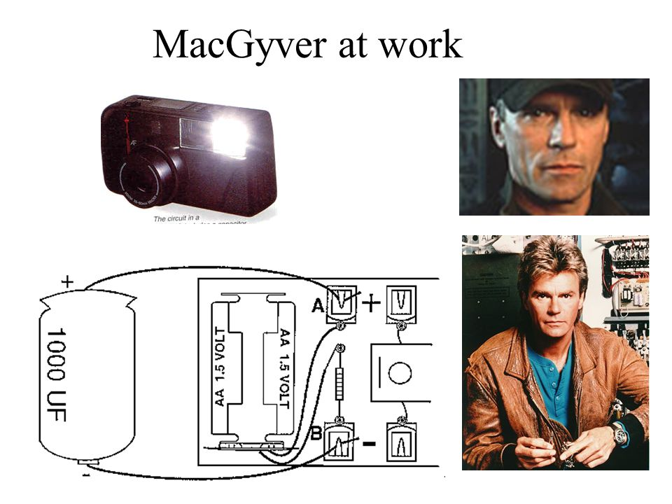 MacGyver at work