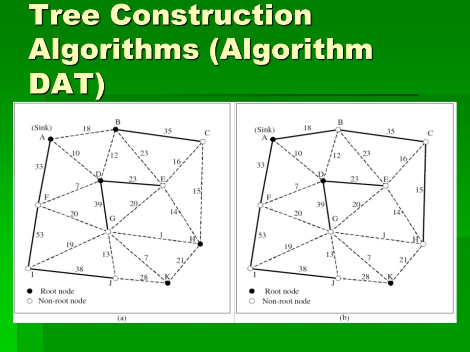 Tree Construction Algorithms (Algorithm DAT)