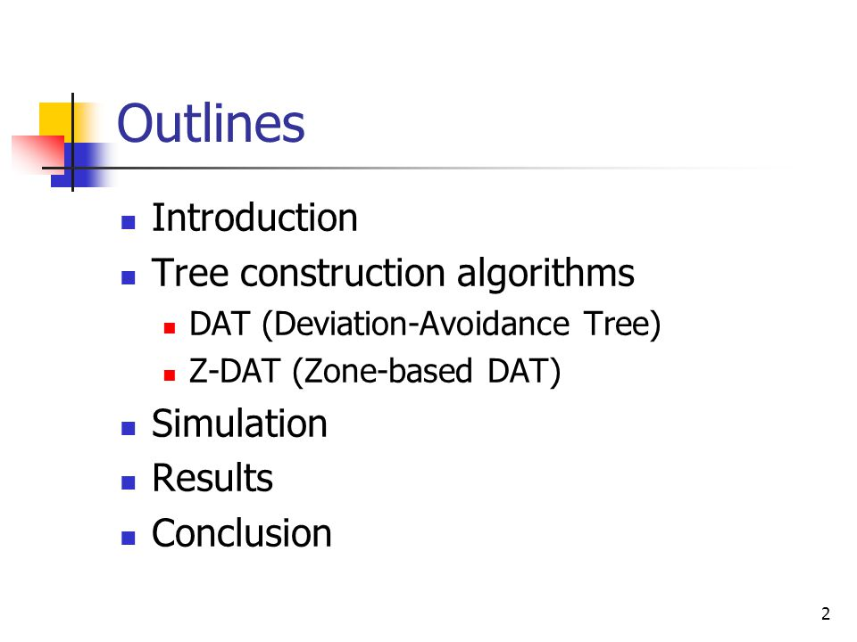 3 Introduction message-pruning tree a logical weighted tree such that the total communication cost is as low as possible weight of edge (a, b) : wT(a,b) the minimum hop count between a and b in G event rate the frequency of objects traveling from one sensor to another in statistics detected list : DLa = (L0, L1,..., Lk) each node a in T maintains a detected list DLa L0 is the set of objects currently inside the coverage of sensor a itself