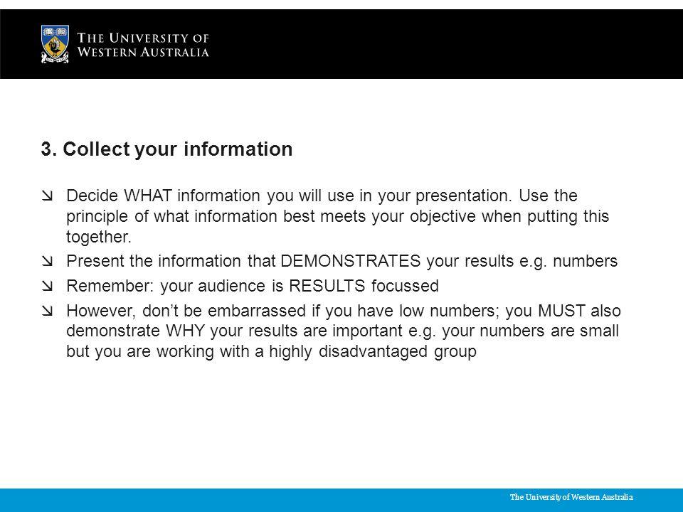 The University of Western Australia 3.