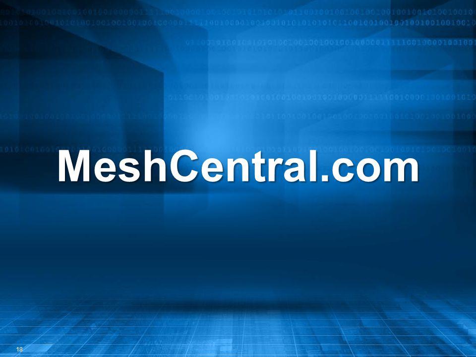MeshCentral.com 18