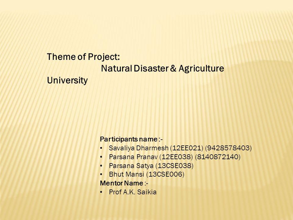 Participants name :- Savaliya Dharmesh (12EE021) (9428578403) Parsana Pranav (12EE038) (8140872140) Parsana Satya (13CSE038) Bhut Mansi (13CSE006) Mentor Name :- Prof A.K.