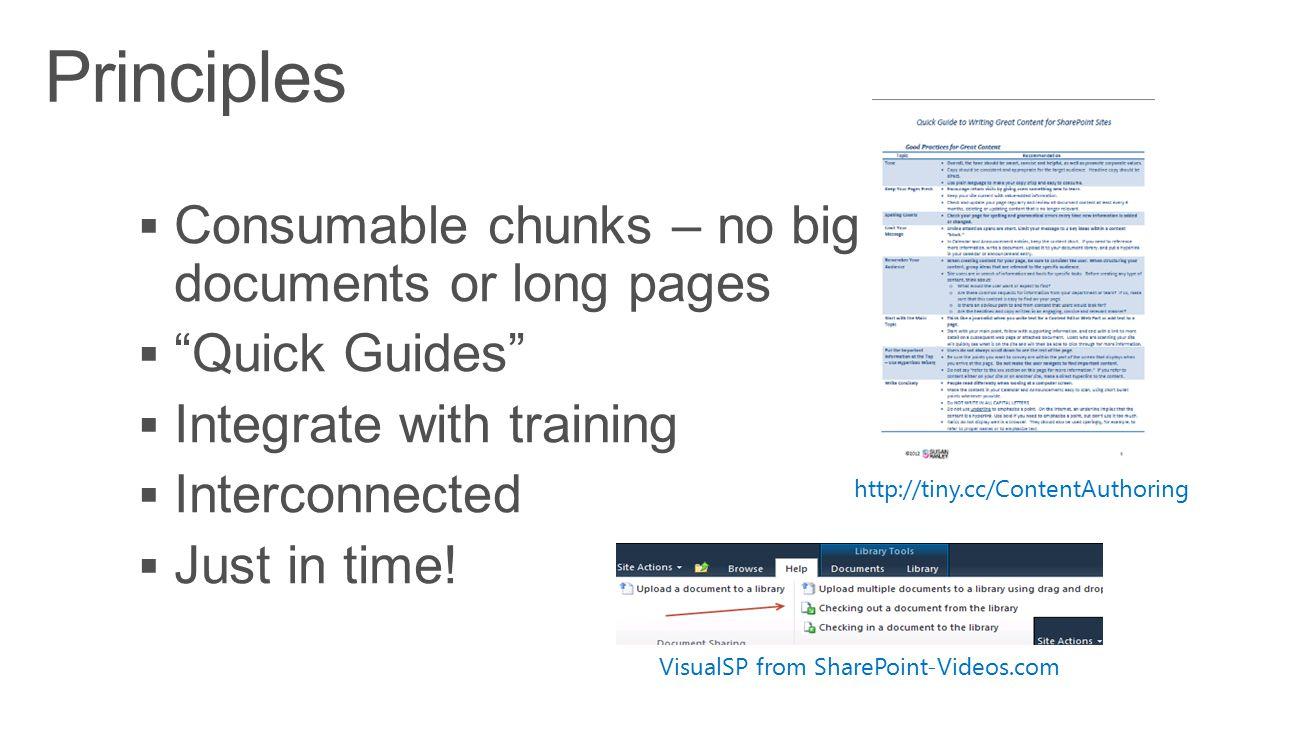 http://tiny.cc/ContentAuthoring VisualSP from SharePoint-Videos.com