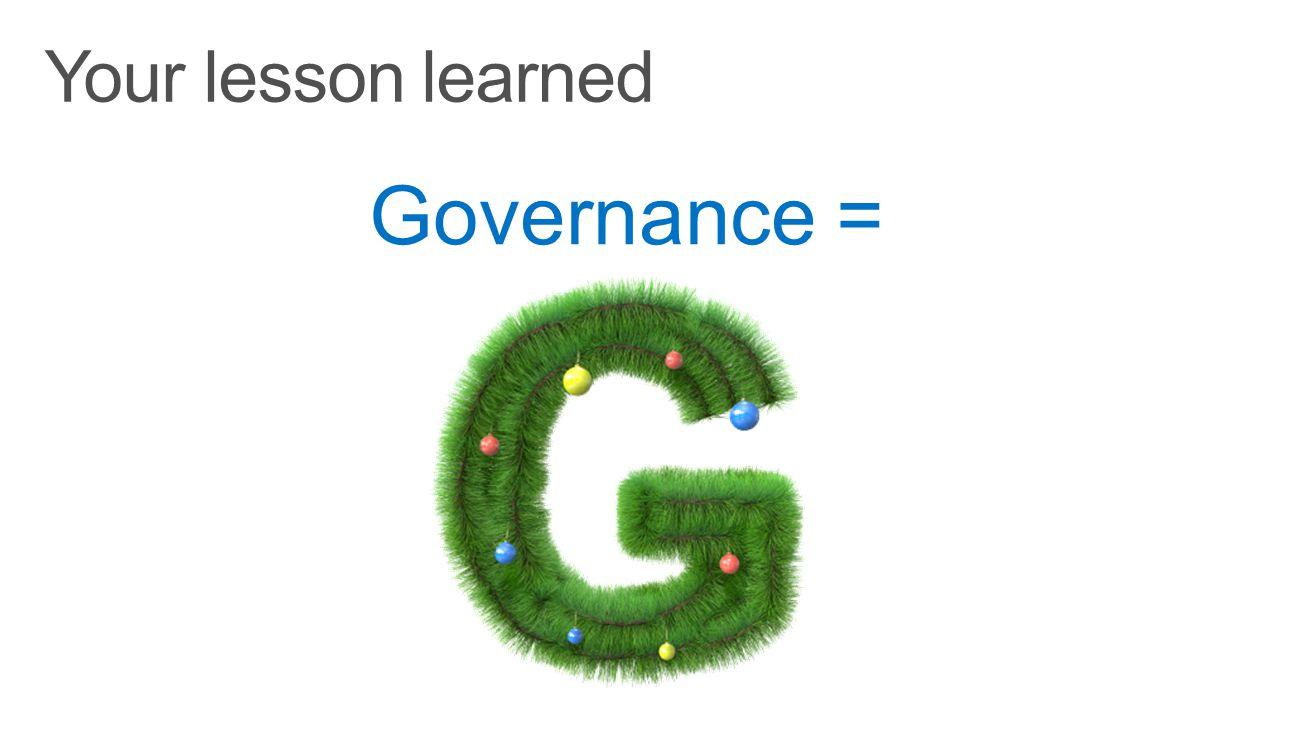 Governance =