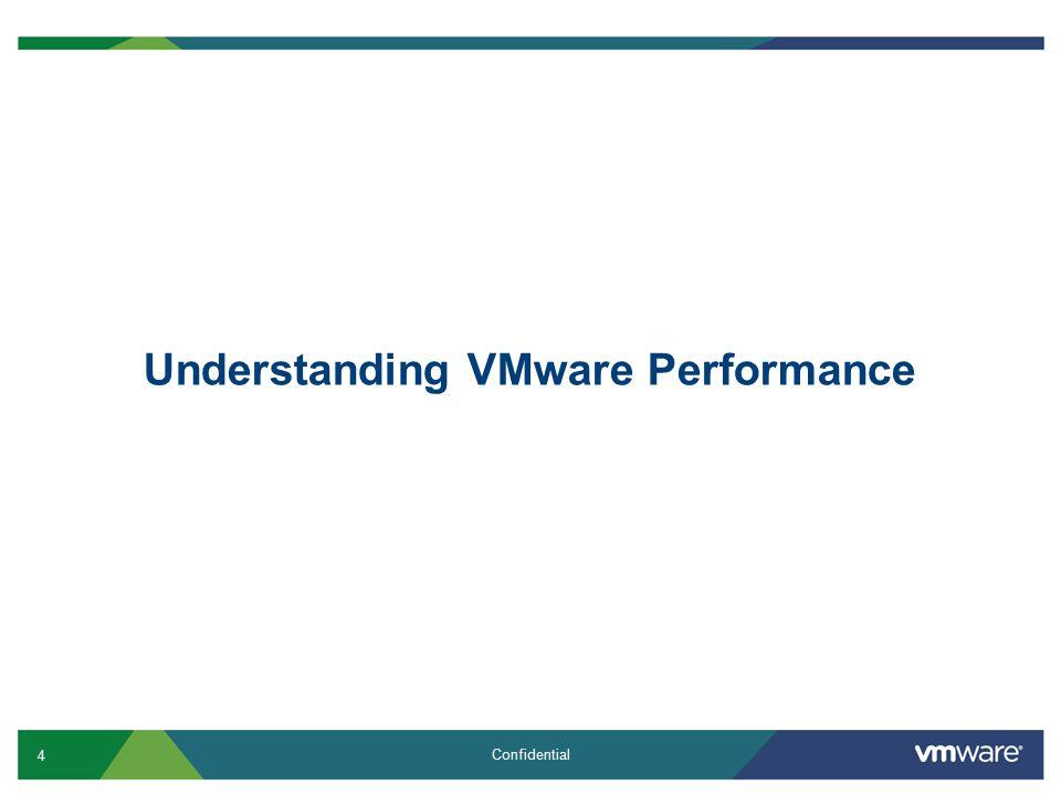 4 Confidential Understanding VMware Performance