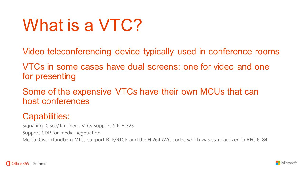 What is a VTC