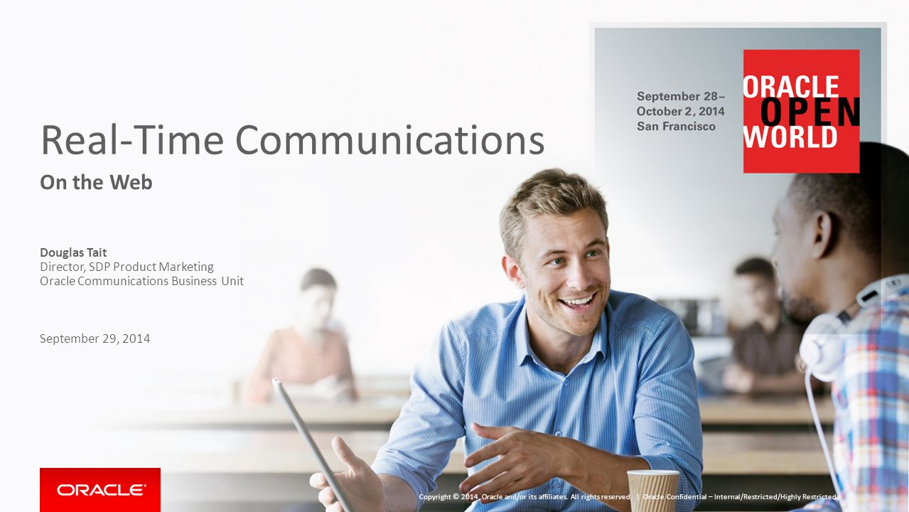 Abstract Telephone networks set a high standard for real-time communications.