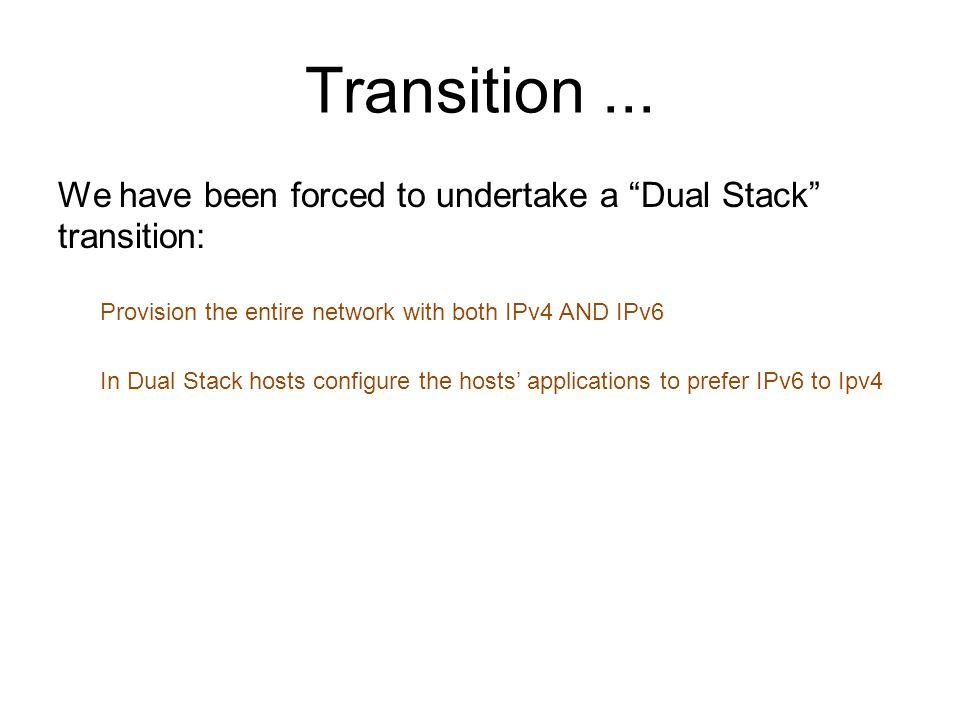 Transition...