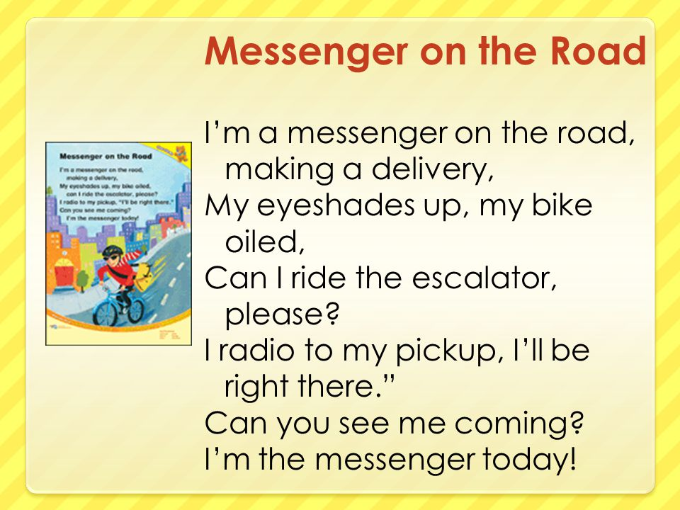 Tuesday What are three ways people can send messages and packages?