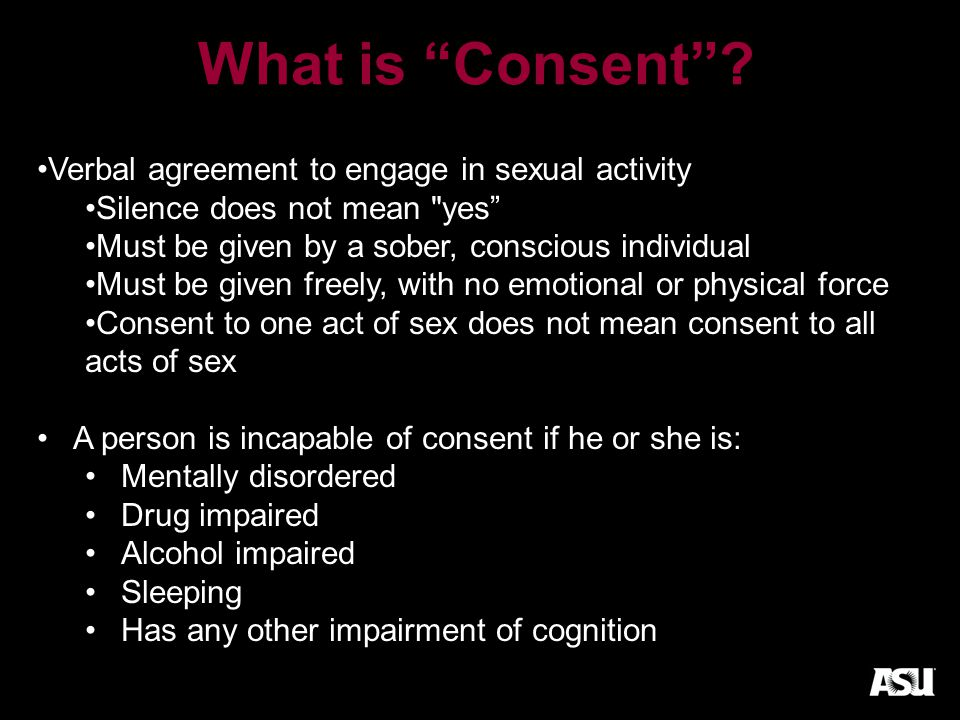 What is Consent .