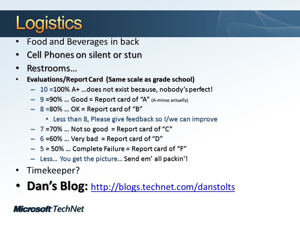 Click to edit Master title style TechNet goes virtual An Inside Look at BCDEdit Let's look at BCDEdit in some detail