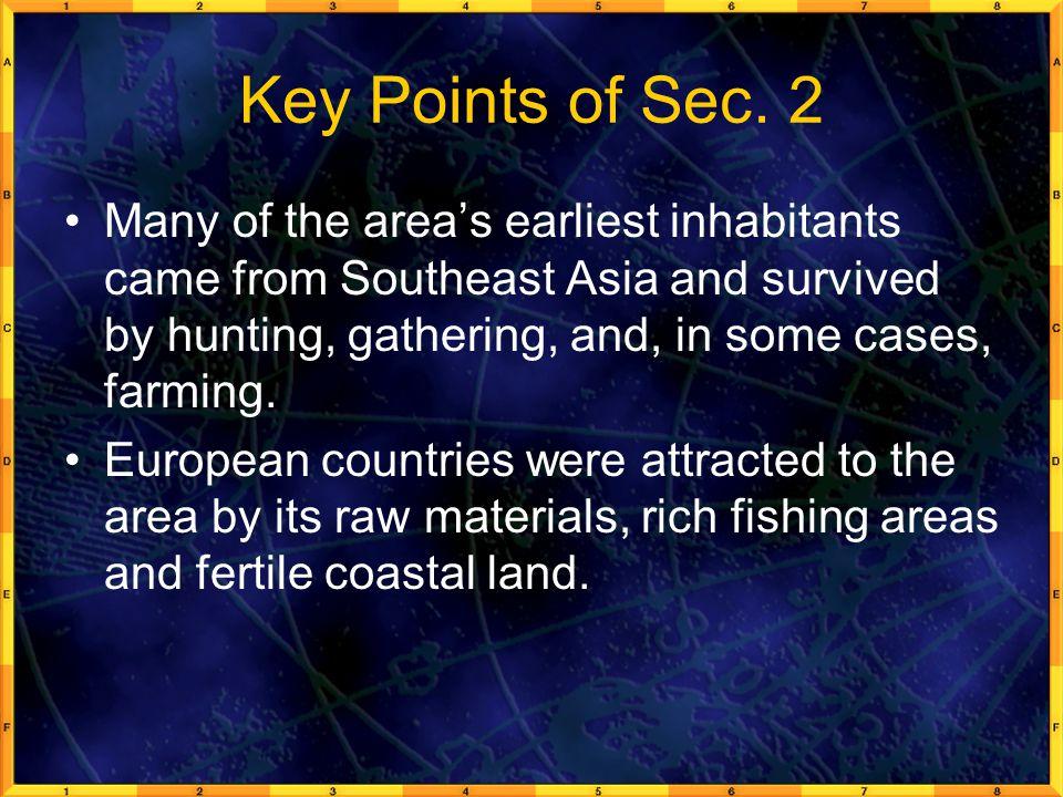 Key Points of Sec.