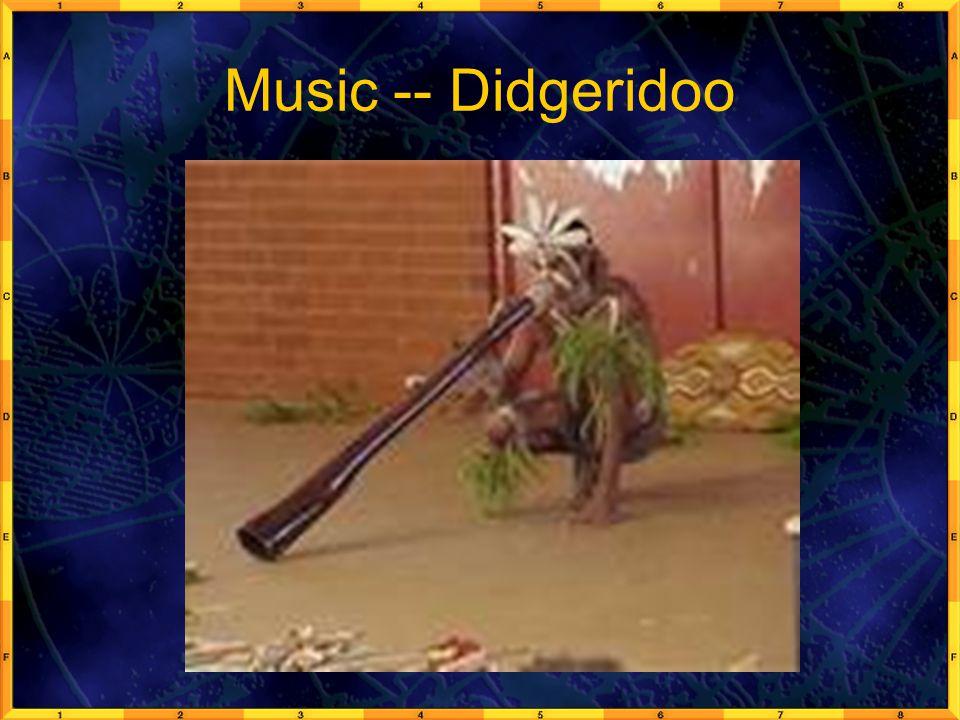 Music -- Didgeridoo