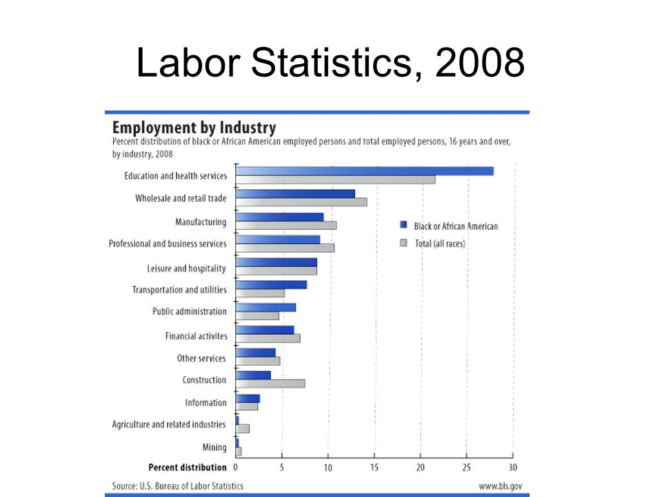 Labor Statistics, 2008