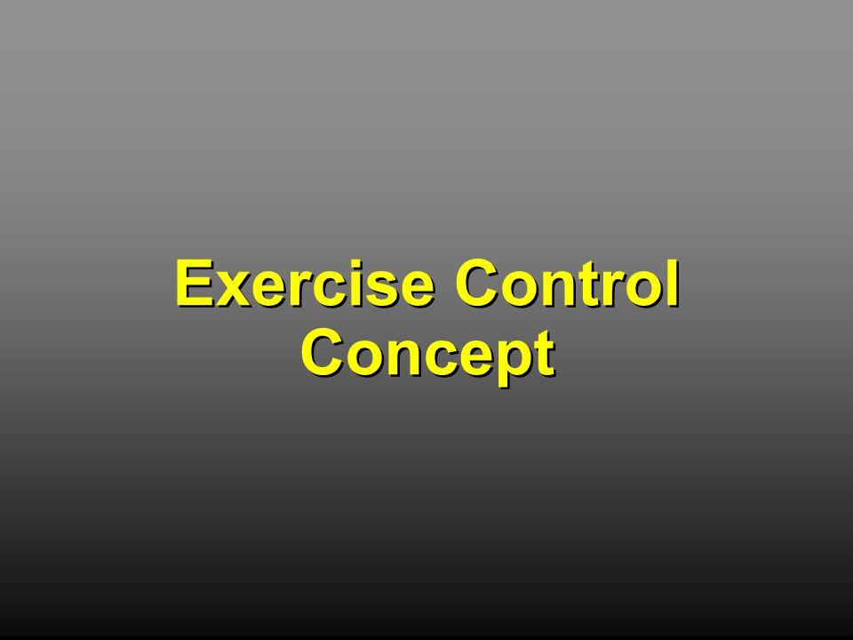Exercise Control Concept