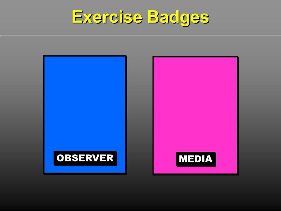 OBSERVER MEDIA Exercise Badges