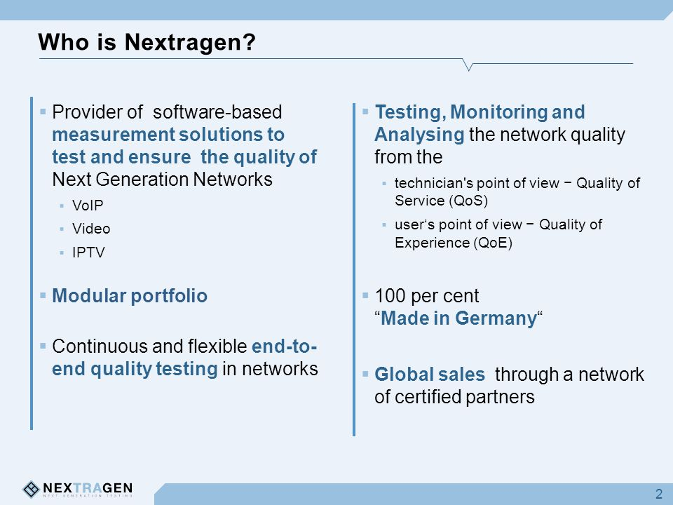 Who is Nextragen.