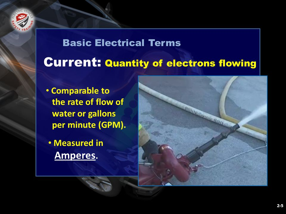 NFPA ELECTRIC VEHICLE SAFETY FOR EMERGENCY RESPONDERS Module II : Basic Electrical Concepts and Hazards A Circuit or path 2-26 Answer