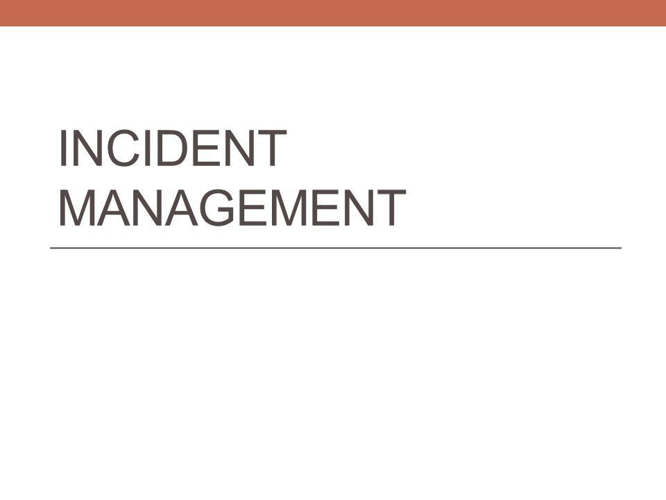 Incident Management System All discipline and truancy data must be reported in Incident Management System for the 2014-15 school year.