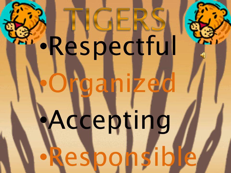 Respectful Organized Accepting Responsible R O A R