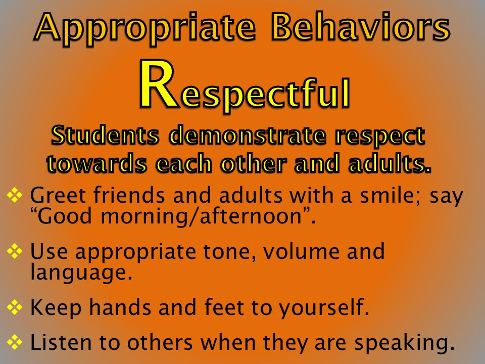 Respectful Organized Accepting Responsible R O A R