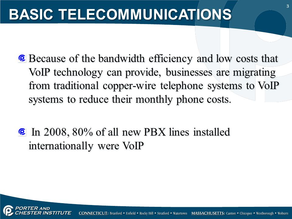 14 Let's take a look a some specifications for a VoIP system to get a better understanding of what IP-PBX system can do and what features they offer.