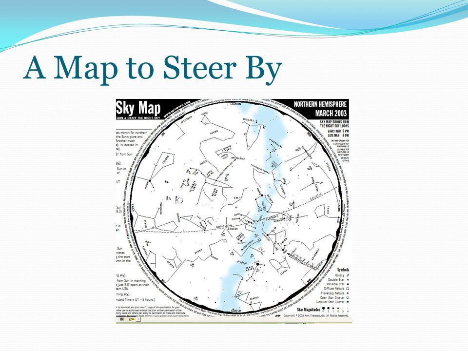 A Map to Steer By
