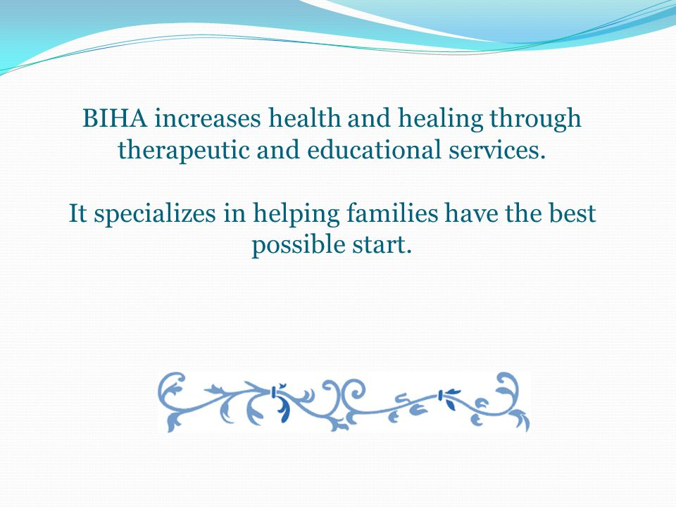 Belvedere Integrated Healing Arts: Massage and craniosacral therapy, Prenatal and birthing education, Parent-child classes on brain development and attachment, Nature-based classes for children and the whole family.