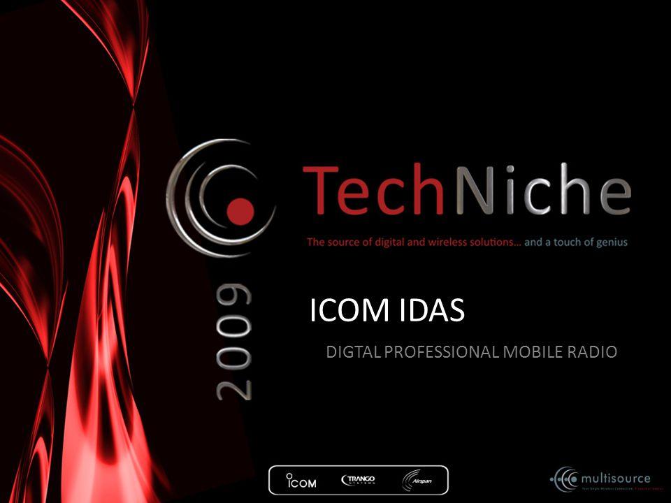 ICOM IDAS DIGTAL PROFESSIONAL MOBILE RADIO