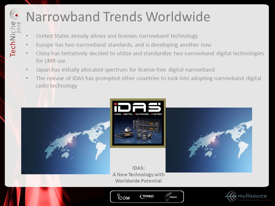 IDAS Conventional IP Network The IDAS™ Conventional IP Network provides a self-contained affordable repeater interlinking solution.