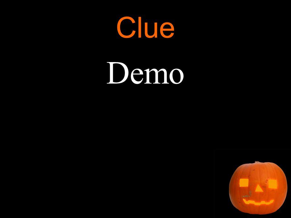 Clue Demo