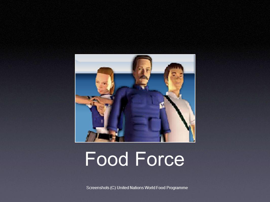 Food Force Screenshots (C) United Nations World Food Programme