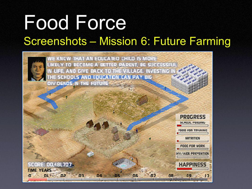 Food Force Screenshots – Mission 6: Future Farming