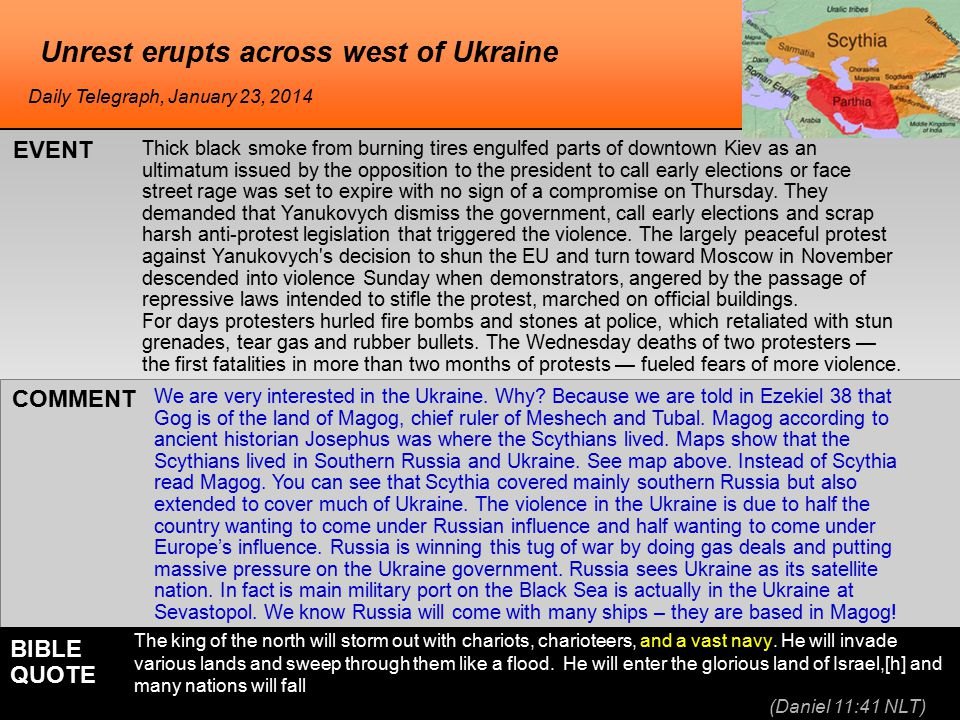 he NATO sees high probability of Russian invasion NATO said on Monday there was a high probability that Russia could launch an invasion of Ukraine, where the government said its troops have been closing in on Donetsk, the main city held by pro-Russian rebels.