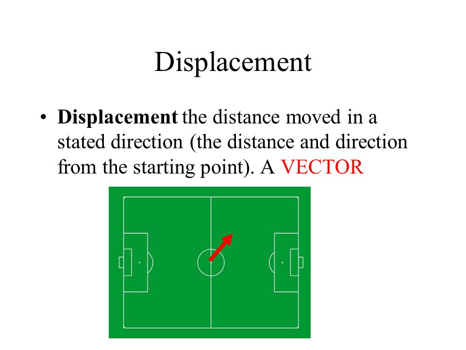 Velocity? Velocity is the rate of change of displacement. Also a VECTOR