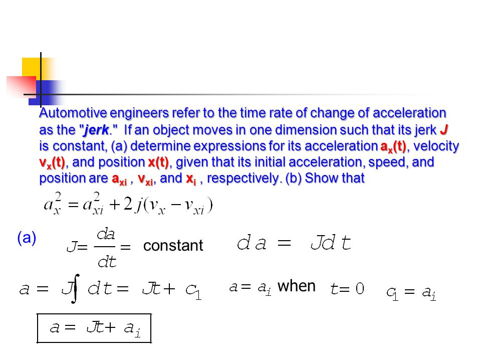 (a) constant when