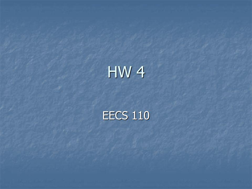 HW 4 EECS 110
