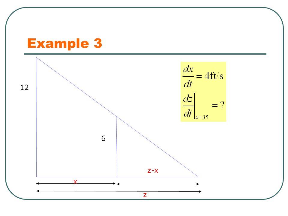 Example 3 12 x 6 z z-x