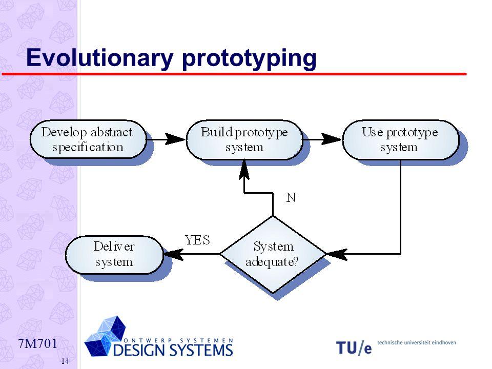 7M701 14 Evolutionary prototyping