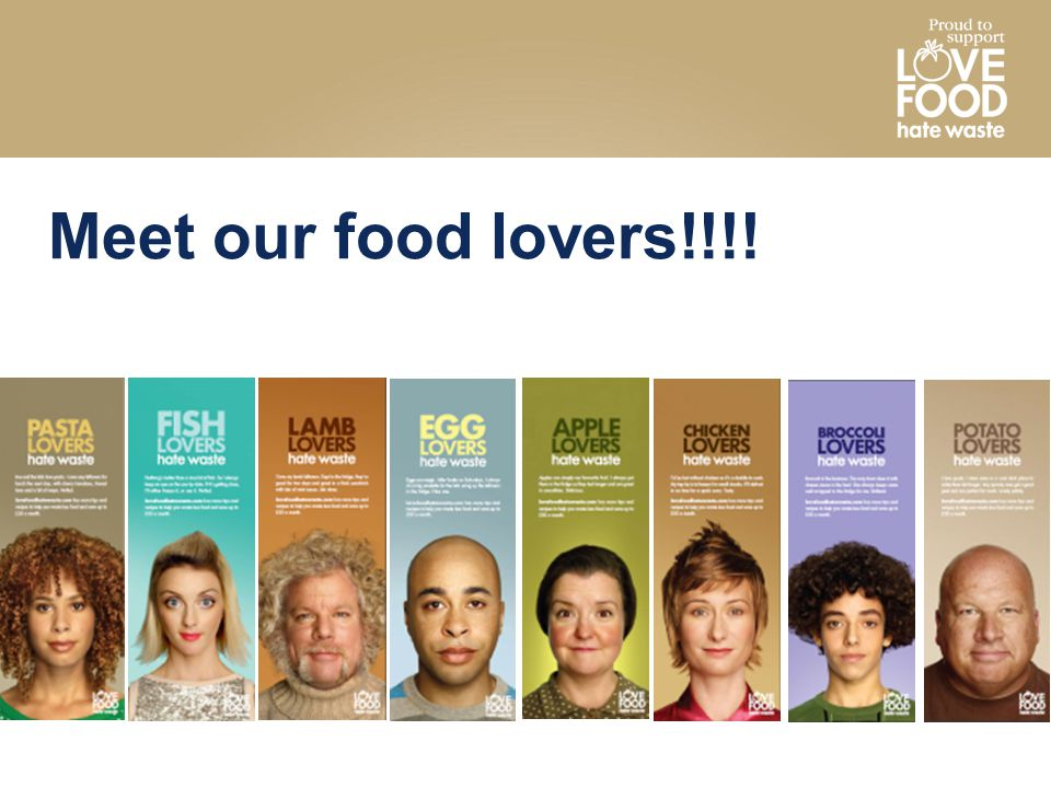 Meet our food lovers!!!!