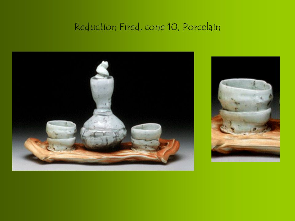 Reduction Fired, cone 10, Porcelain