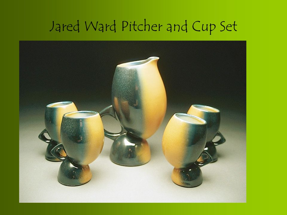 Jared Ward Pitcher and Cup Set