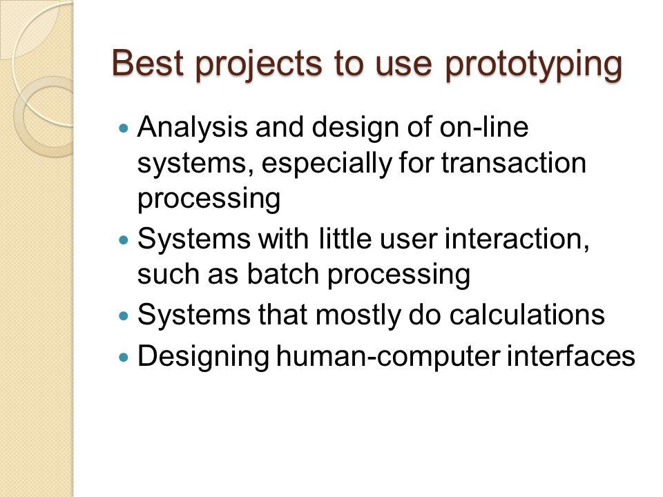 Methods Dynamic systems development Operational prototyping Evolutionary rapid development Scrum