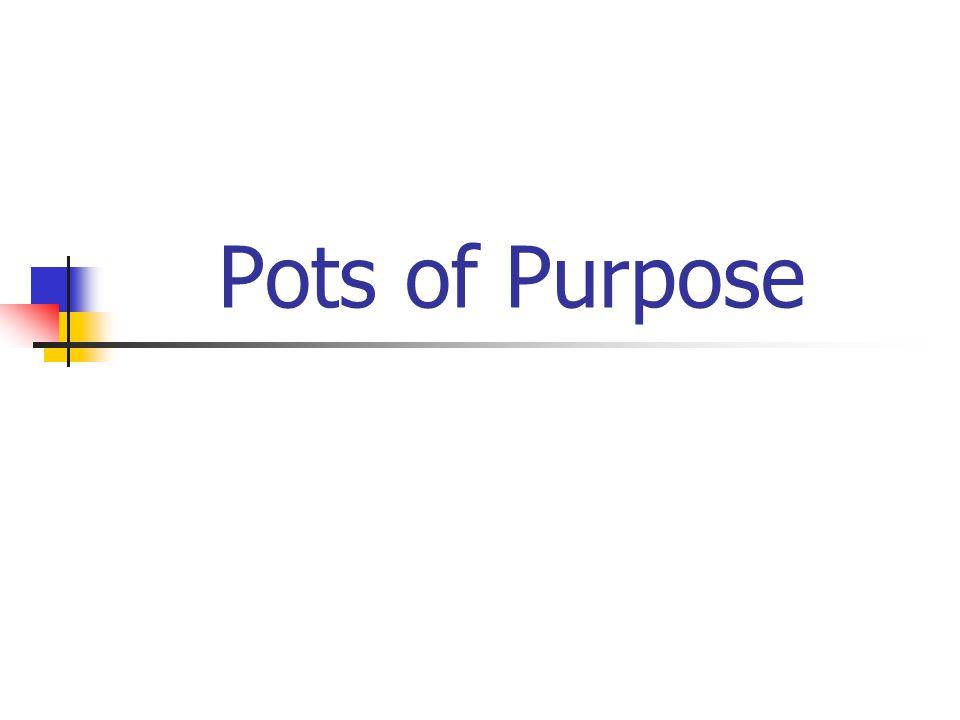 Pots of Purpose