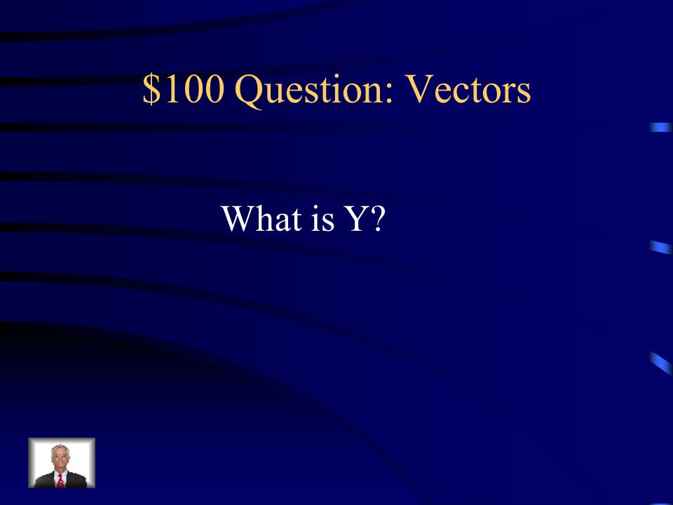 $100 – Vectors Of X and Y, the one that denotes vertical